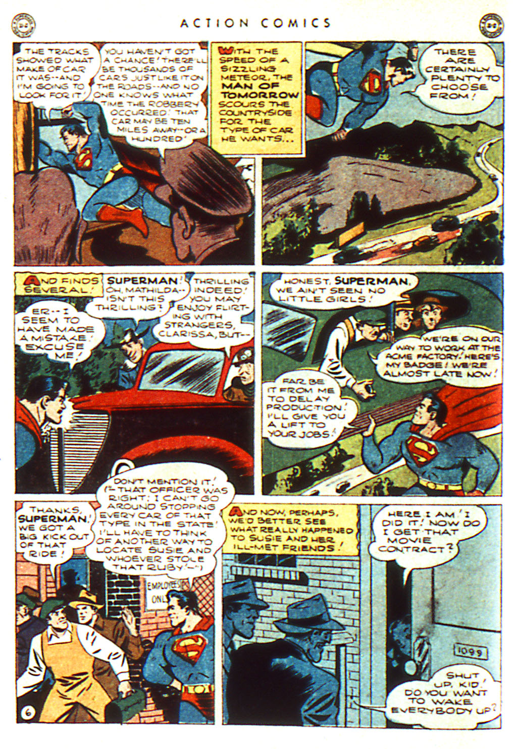 Read online Action Comics (1938) comic -  Issue #98 - 8