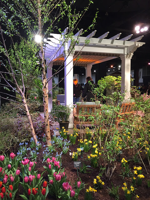 Pergolas are the perfect outdoor place to rest your body after a long summer day | Boston Flower & Garden Show 2017