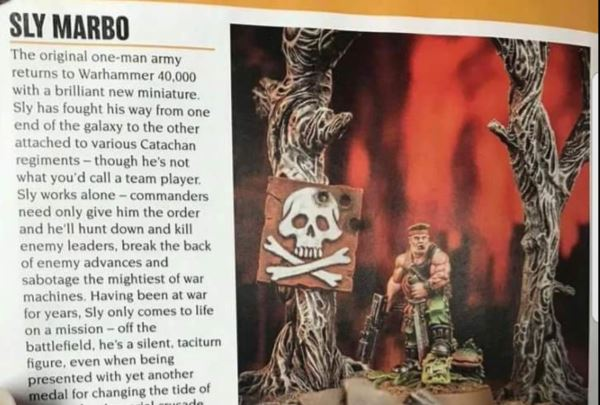 Sly Marbo Returns in December! + Updated with New Lord Felthius