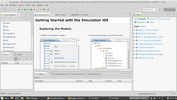 Network Simulators: OMNeT++ installation in Linux Mint 17 1