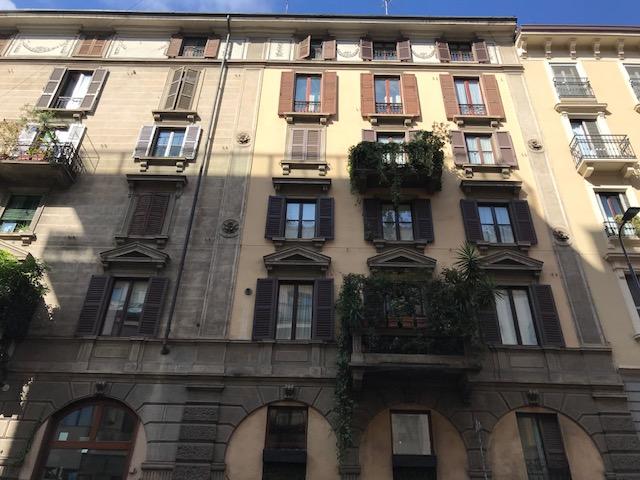 ミラノの街の建物