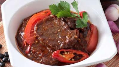 Recipe Krengsengan beef tongue, Tongue tasty Companion to sway