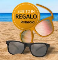Logo Continental ti regala come premio sicuro un occhiale da sole unisex Polaroid Twist