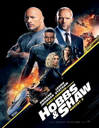Fast and Furious: Hobbs & Shaw (2019) English 480p HDCAM 350MB Movie Download