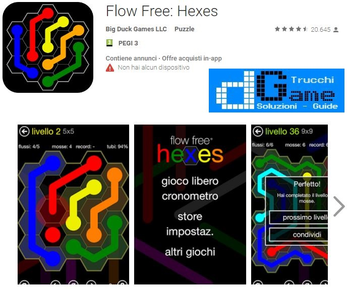 Soluzioni Flow Free: Hexes di tutti i livelli | Walkthrough guide