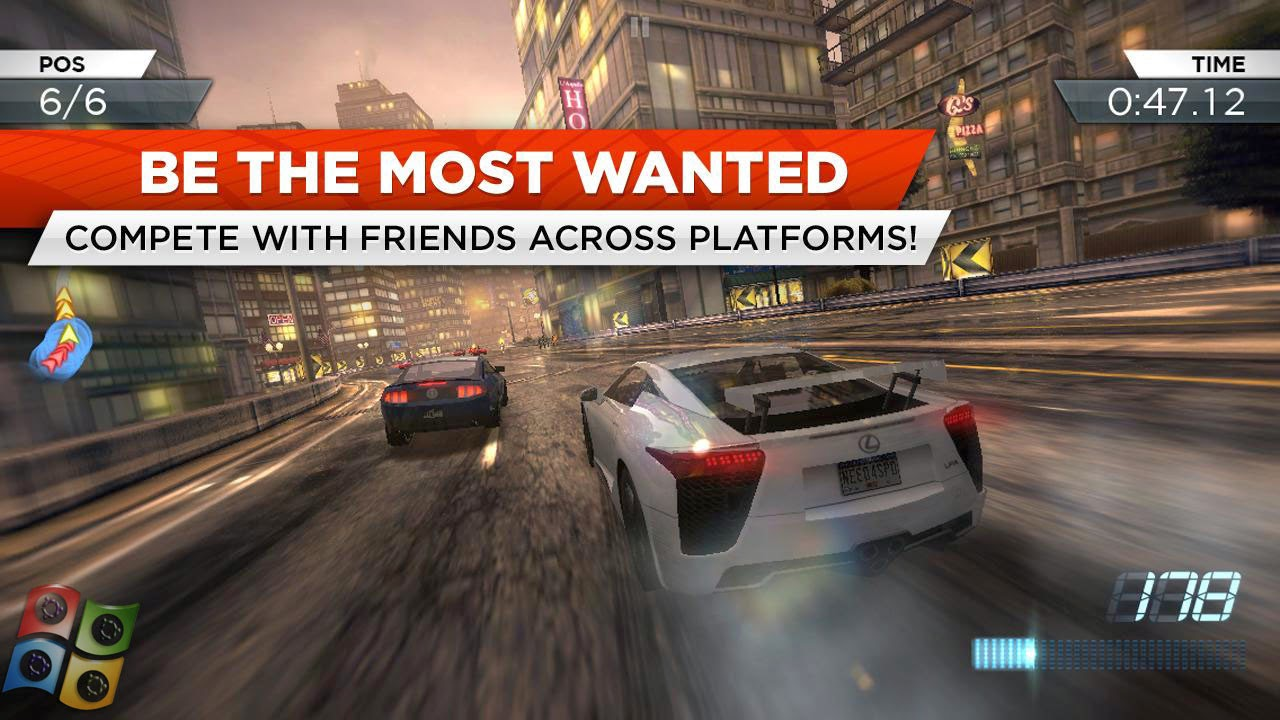 Need For Speed Most Wanted APK For Android Full Version