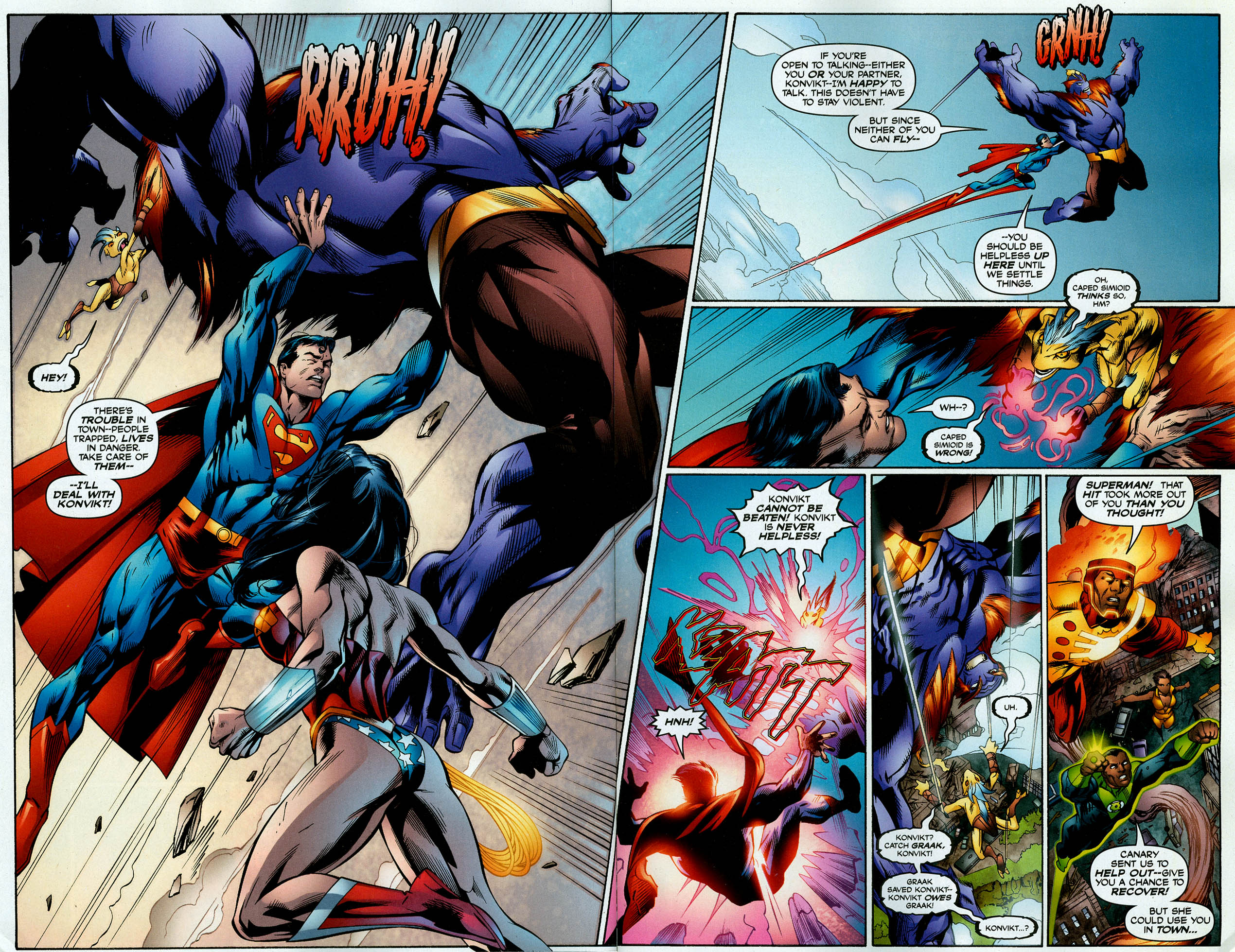 Read online Trinity (2008) comic -  Issue #4 - 4