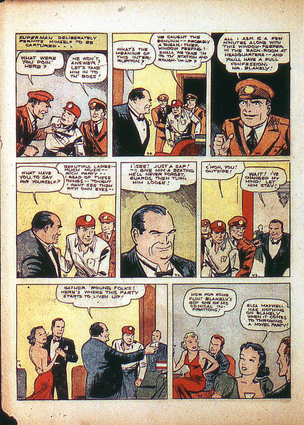 Read online Action Comics (1938) comic -  Issue #3 - 8