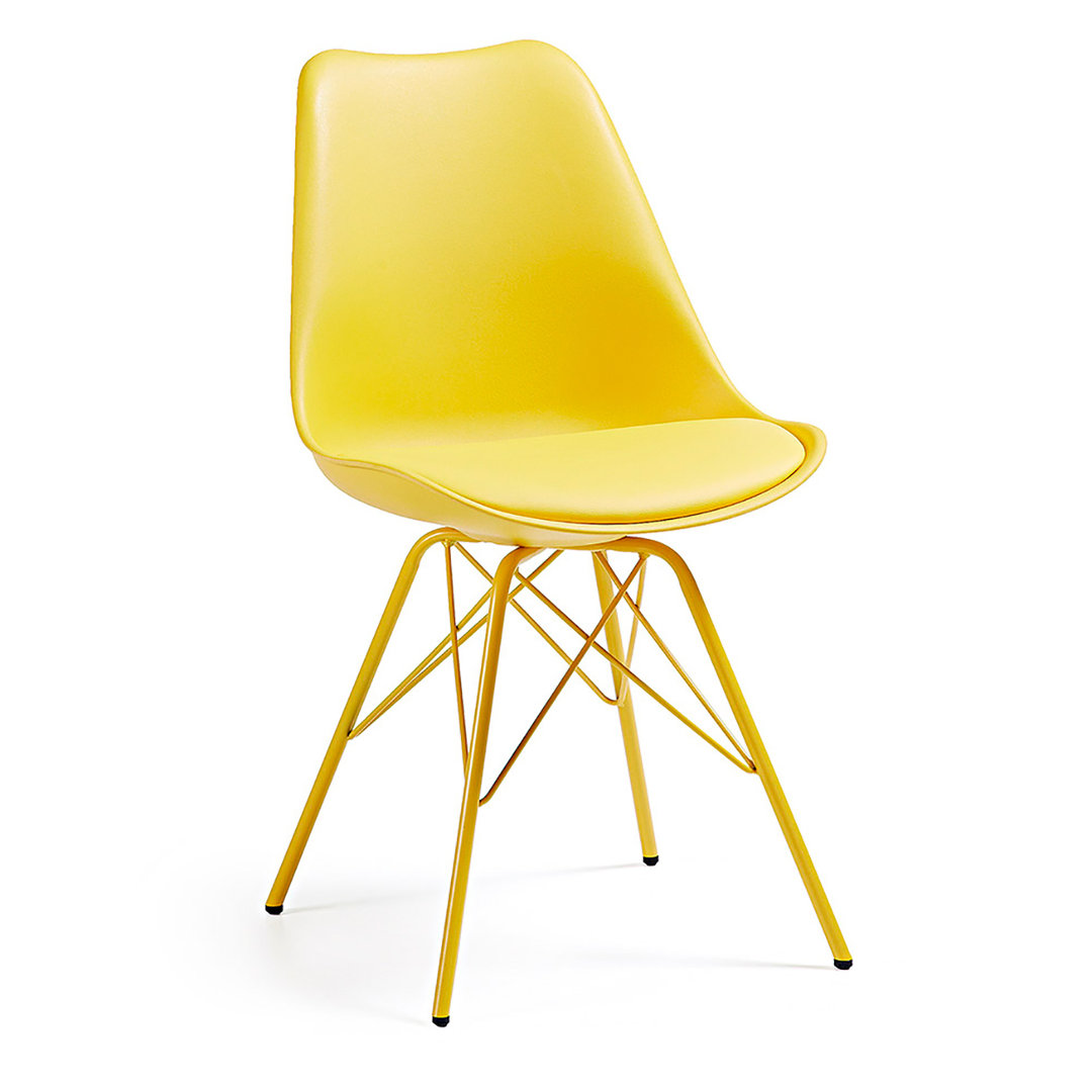 Muebles de comedor 10 sillas de dise o llenas de color for Sillas modernas para comedor 2017