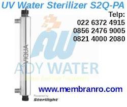 Dimana Tempat Beli Lampu UV Sterilight S2Q-PA Sterilisasi Air di Bandung Tangerang Selatan Karawang Depok Banten Pontianak ADY WATER?