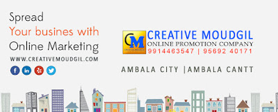 Online Songs Promotion Company in Ambala City | Creative Moudgil Digital Marketing Company