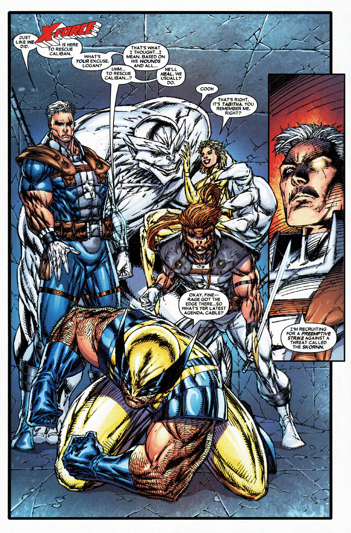 Read online X-Force (2004) comic -  Issue #4 - 18