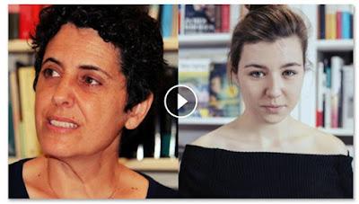 Clara Asunción García y Andrea Van Eyck ('Eva') -  Campaña 'Lee y enamórate'