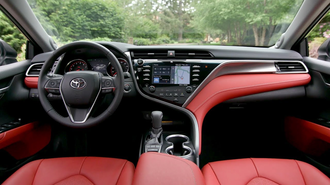 2018 Toyota Camry Xse V6 Review And Release Date Vehicle Gloss