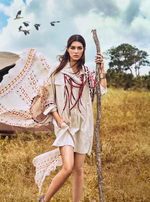 Kriti Sanon Photoshoot for Vogue Magazine April 2017 India