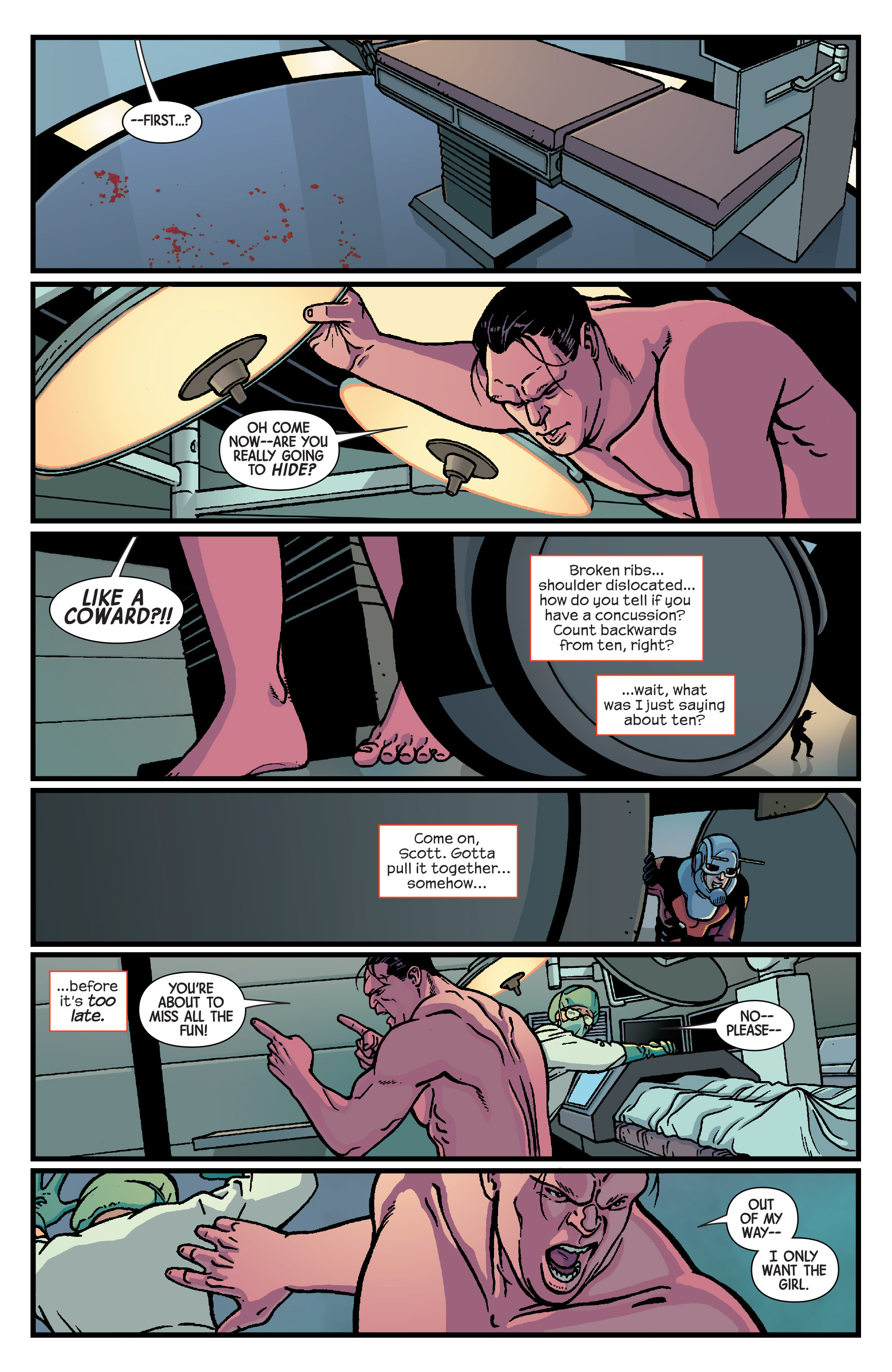 Read online Ant-Man comic -  Issue #5 - 8