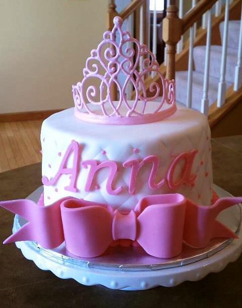 Simply Sweet Princess Tiara Cake