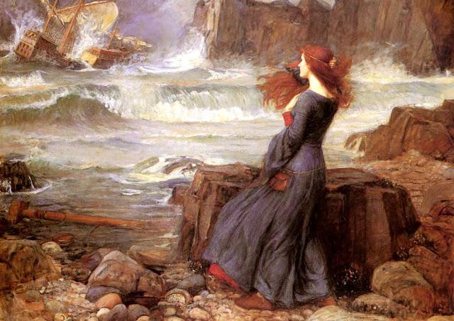 John William Waterhouse - Miranda. The tempest - 1926