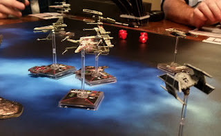 Star Wars X-Wing Miniatures Game Magnet stand mount Custom Miniature