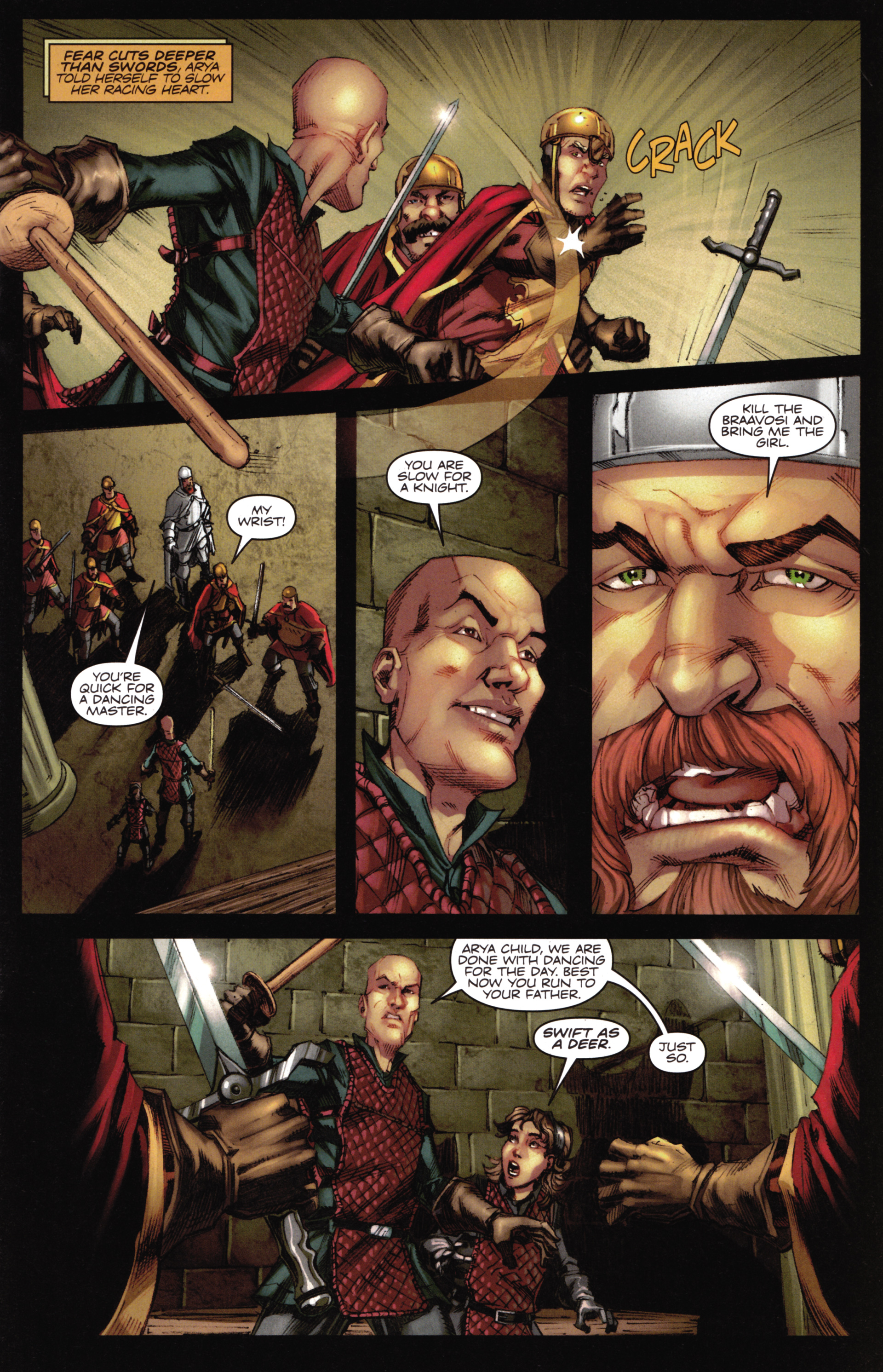 Read online A Game Of Thrones comic -  Issue #16 - 17