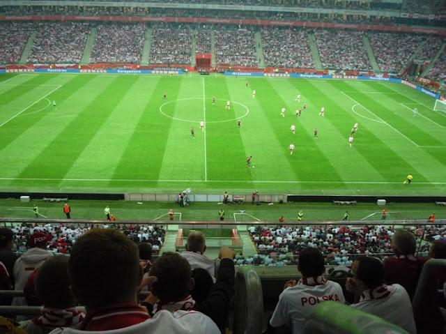 Polska - Niemcy 2:0 11.10.2014 r. Stadion Narodowy w Warszawie eliminacje Euro 2016