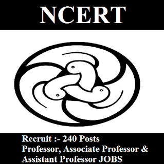 National Council of Educational Research & Training, NCERT, Delhi, Assistant Professor, Associate Professor, Professor, Post Graduation, freejobalert, Sarkari Naukri, Latest Jobs, ncert logo