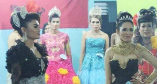 Kontes Miss Waria Nasional Diprotes Keras