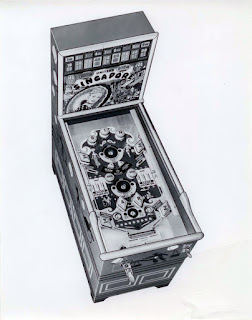 Cartel 1937: Singapore - Pinball (United)