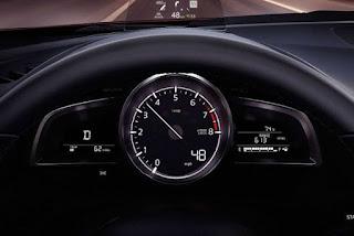 Mazda 3 2017 bảng đồng hồ thể thao