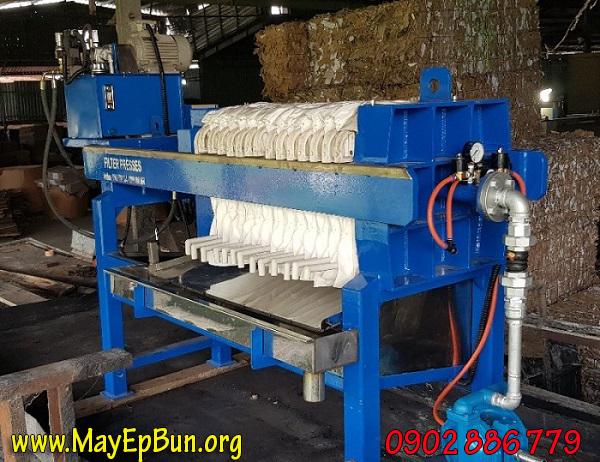 Máy ép bùn khung bản size 500mm cấp cho nhà máy Hiệp Hưng - Khánh Hòa