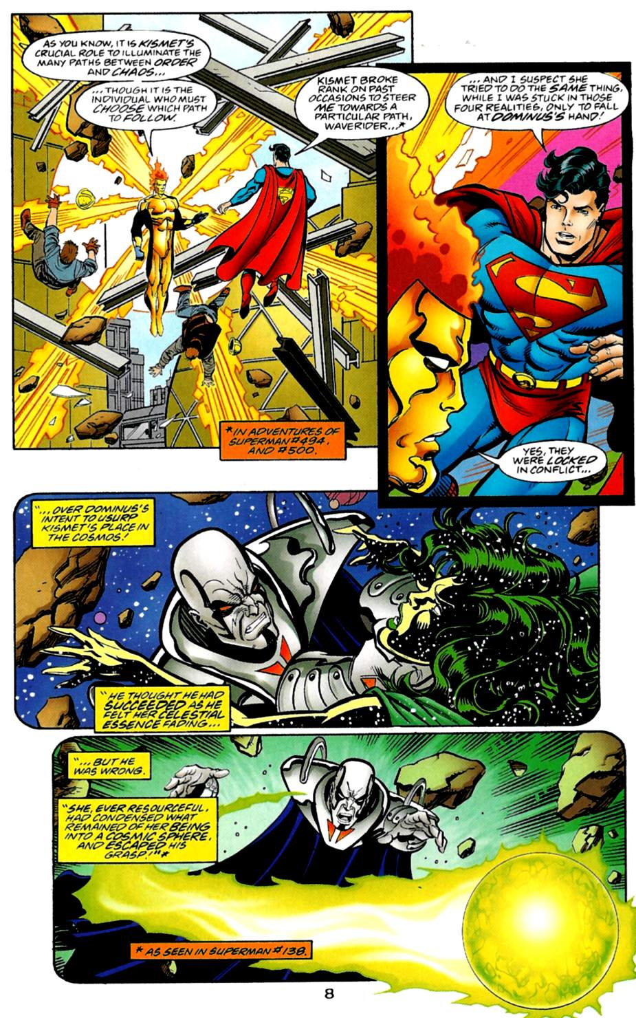 Read online Adventures of Superman (1987) comic -  Issue #561 - 9