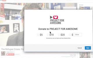 youtube donate