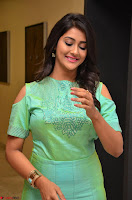 Pooja Jhaveri in Beautiful Green Dress at Kalamandir Foundation 7th anniversary Celebrations ~  Actress Galleries 085.JPG