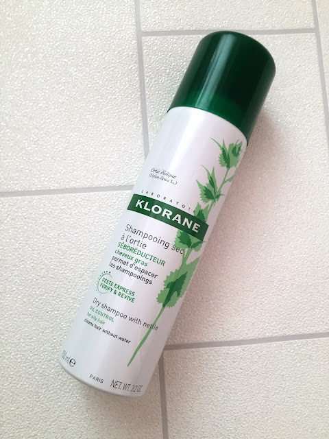 Klorane Nettle Sebo Regulating Dry Shampoo