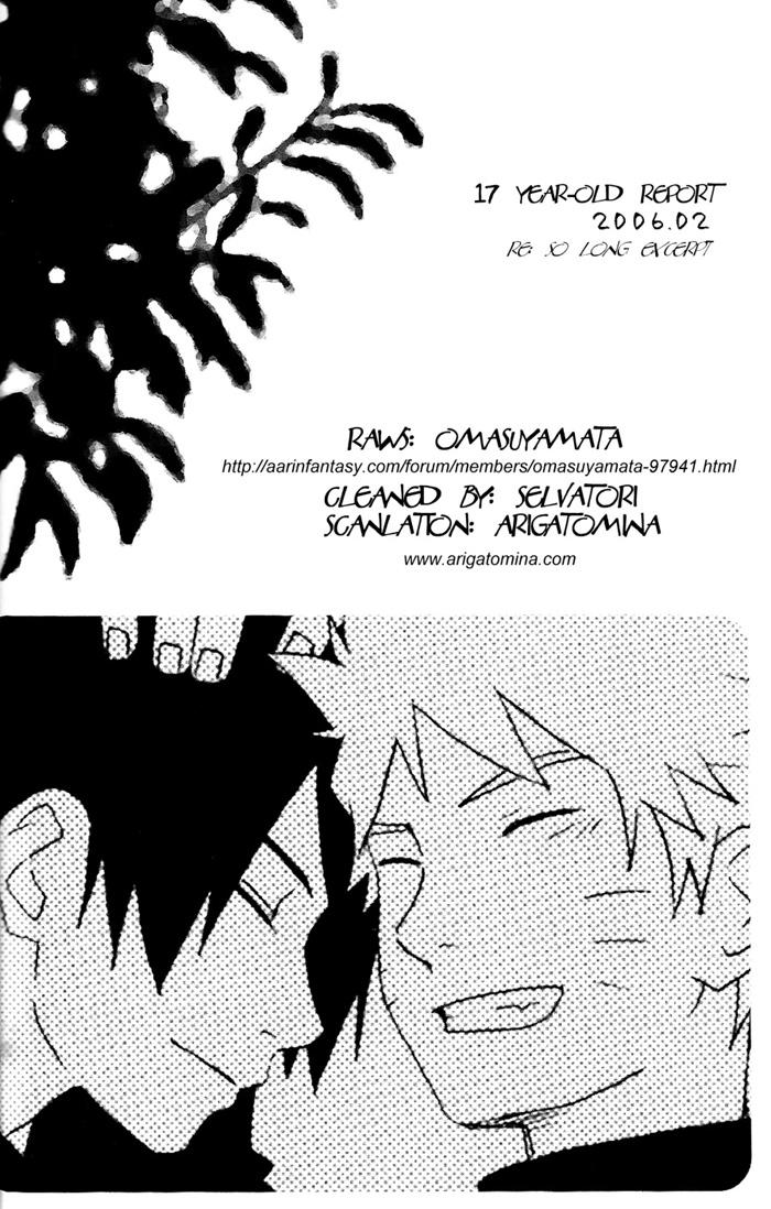 Hình ảnh  NaruSasu4ever %25252017%252520yearold%252520report 001 in Naruto Doujinshi - White paper
