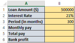 Loan amortization worksheet in excel