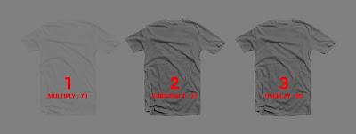 Cara Membuat Mockup Tshirt Dengan Corel Draw hasil akhir transparant