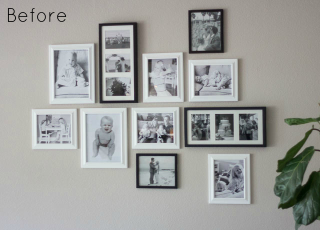 While I Liked The Family Photo Wall Am Loving Pops Of Color And Whimsey Created By Swing Out Some Photos For S Art