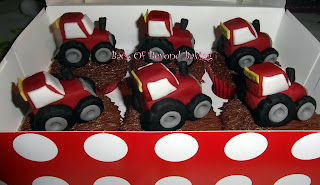 tractor themed cakes