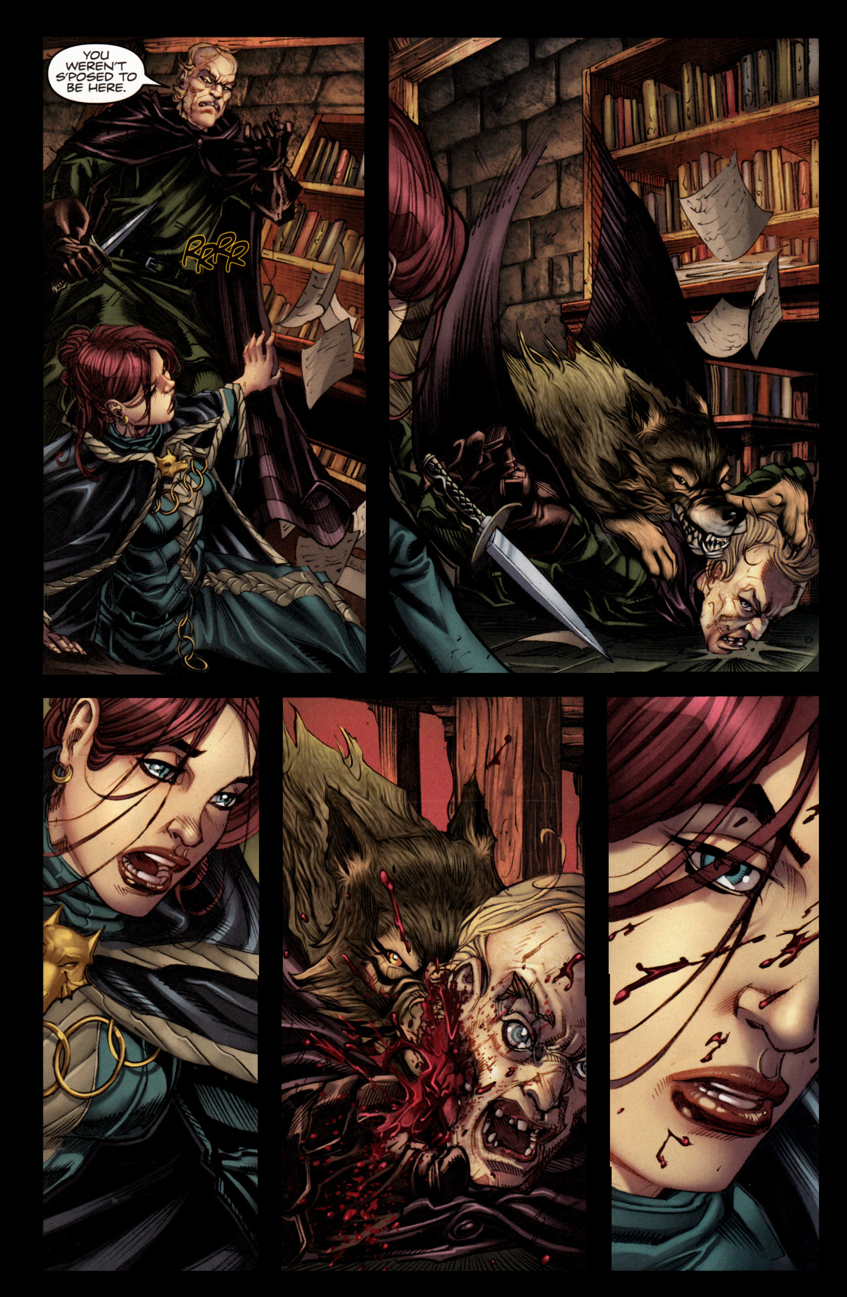 Read online A Game Of Thrones comic -  Issue #4 - 26