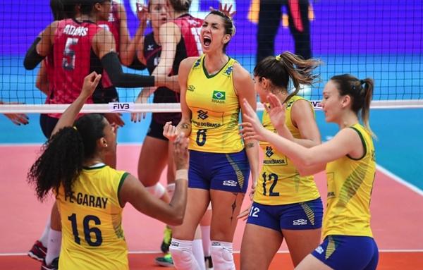 Brasil bate EUA