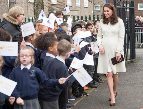Księżna Kate z wizytą w Pegasus Primary School