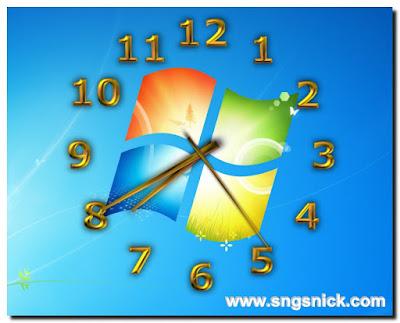 TheAeroClock 4.24 - Пример вида часов-1