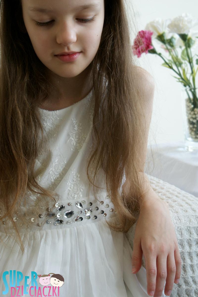 207512ce29 Super dzieciaczki  Sukienka pokomunijna na przyjęcie.