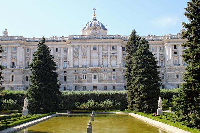 ארמון המלך  במדריד