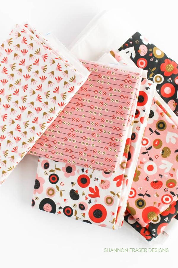 Valentine's Collection designed by Oak Print Design | Ecliptic Quilt | Shannon Fraser Designs