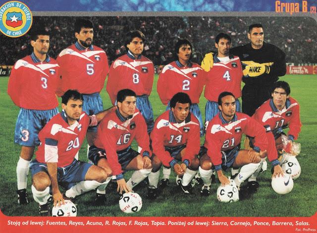 Formación de Chile ante Perú, Clasificatorias Francia 1998, 12 de octubre de 1997