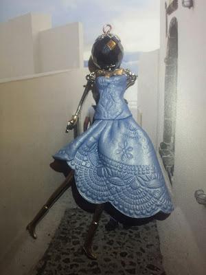 bambolina abito fimo bijoux Le Albertine