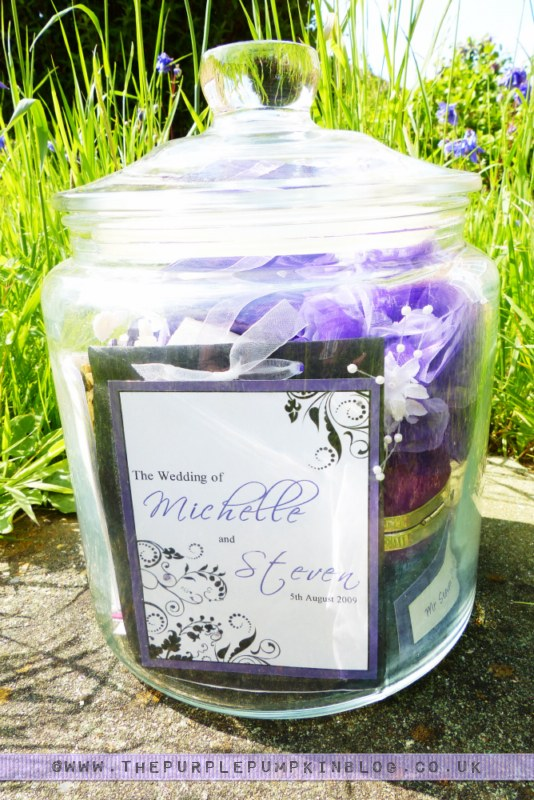 Create a {Wedding Day} Memory Jar
