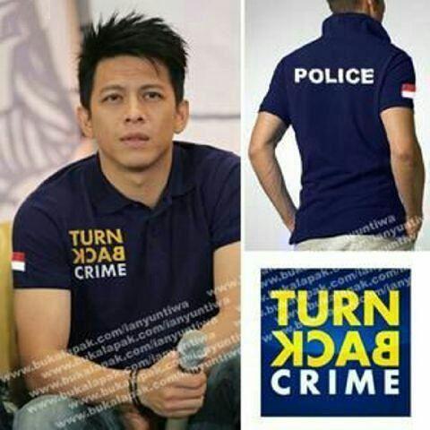 Jual Baju Laki-Laki Kaos Turn Back Crime - 12790